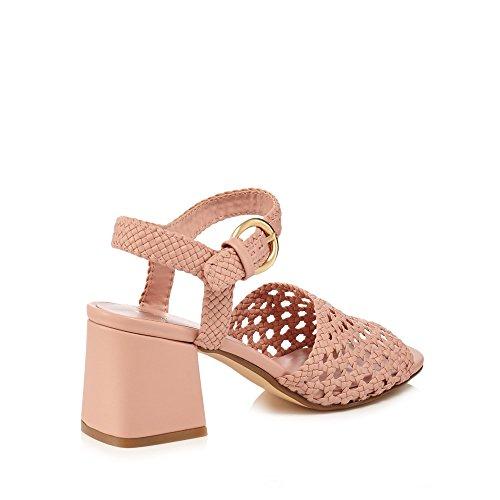 de Sandalias media tacón mujeres by J rosa central pierna con color a para Jasper Conran tiras en claro wBIfqt