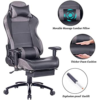 Amazon Com Uomax Gaming Chair Reclining Rocking Office