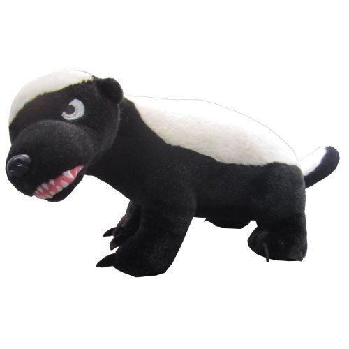 Honey Badger Large Talking Plush, R Rated by License 2 Play Inc
