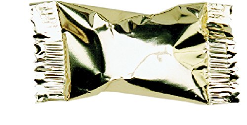 Party Sweets By Hospitality Mints Metallic Gold Buttermints, 7-Ounce Bags (Pack of 6) -