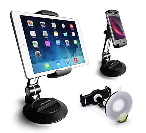 AboveTEK Suction Cup Cell Phone Holder, Large Sticky Pad Tablet Mount on -