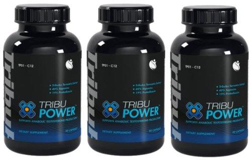 TribuPower Tribulus Terrestris экстракт 900 мг 270 капсул 3 бутылки