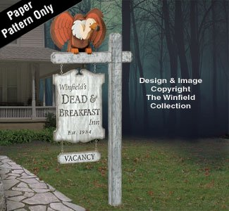 Dead & Breakfast Sign Plan -