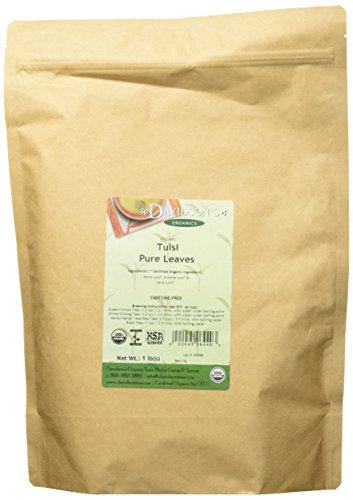 Leaves Pure Teas Herbal Tea - Davidson's Tea, Tulsi Pure Leaves, 16-Ounce Bag
