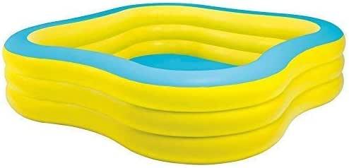 fanren Intex Familia de Contenido Bomba Piscina Hinchable Piscina Infantil Piscina de Balonmano Pool: Amazon.es: Jardín