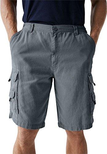 KingSize Marine Elastic Cargo Shorts