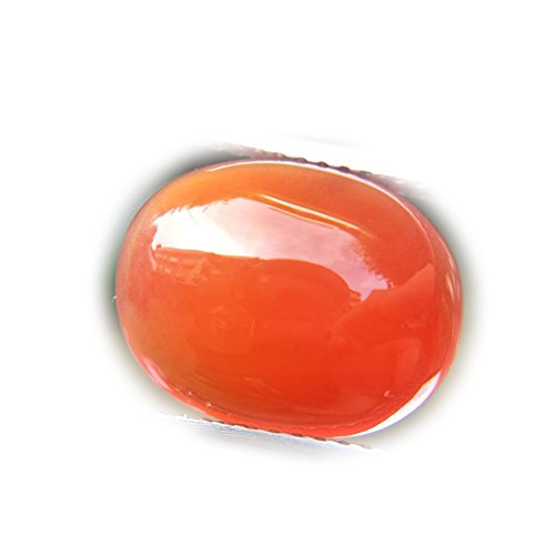 Lovemom 6.16ct Natural Cabochon Unheated Orange Chalcedony Africa #R by Lovemom