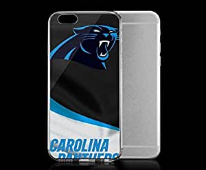 Light weight with strong PC plastic case for Iphone 6 Sports & Collegiate NFL Carolina Panthers Carolina Panthers