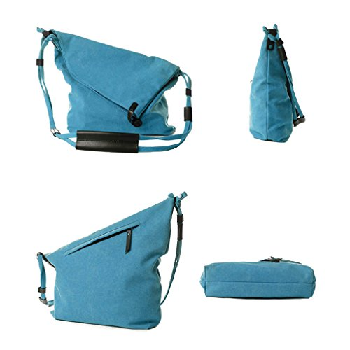 Khaki body Lifebe traveling Bag Shoulder Canvas Single Satchel Cross Messenger BG bags Tote Blue Fashional 11xOvH