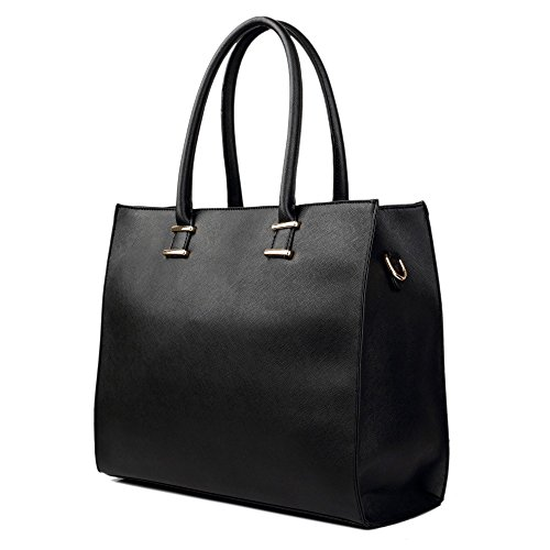 Damen-Handtasche-Damentasche-Tragetasche-Schultertasche-aus-K-Leder-Gro