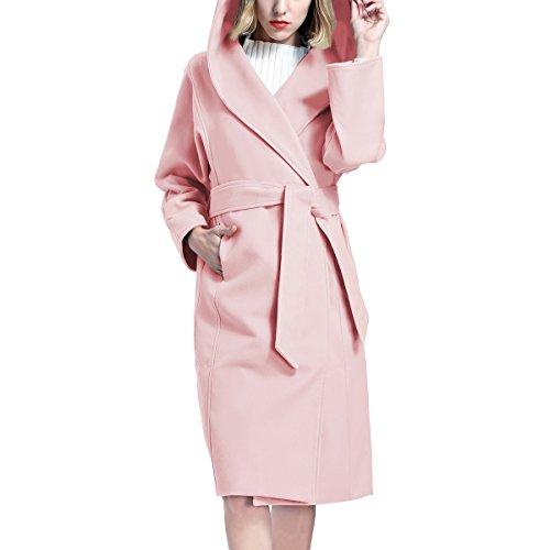 Y-Step - Abrigo - Manga Larga - para mujer Rosa