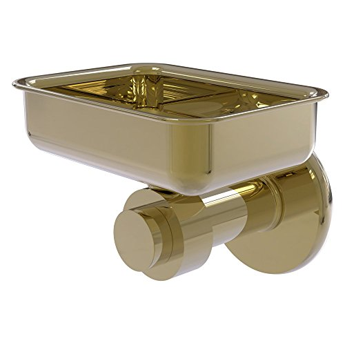 932-UNL Mercury Collection Wall Mounted Soap Dish, Unlacquered ()