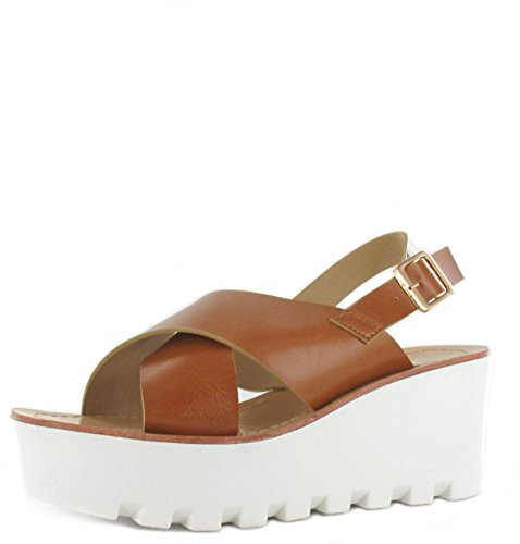 Tilly Shoes Chunky Suela Plataforma Verano Sandalias Cuñas Flatform Zapatos Tamaño 3–