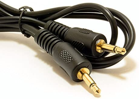 Mono 3,5 mm Conector Jack Clavija A Mono 3,5 mm Conector Jack Clavija Cable Cable 2 m Oro