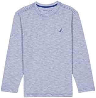 Nautica Boys' Long Sleeve Crew Neck Jersey Shirt