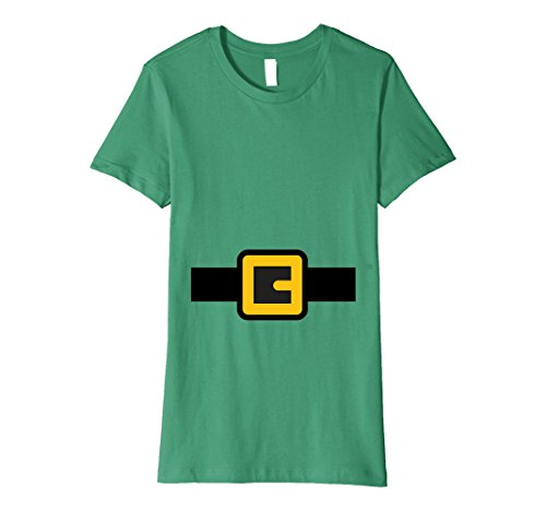Womens Dwarf Costume Shirt, Halloween Matching Shirts for Group Large Kelly Green (Halloween Costume Ideas For Teachers Kindergarten)