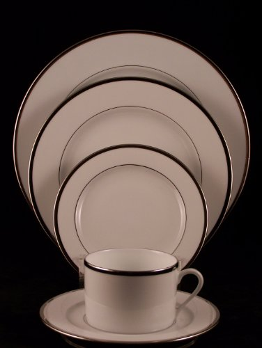 Pickard Platinum Necklace 5 Piece Place Set