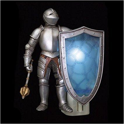 Norsemen Entertainment, LLC Sir Ironheart Plug-In Knight Light - 2 Pack Purple (Knight Night Light)