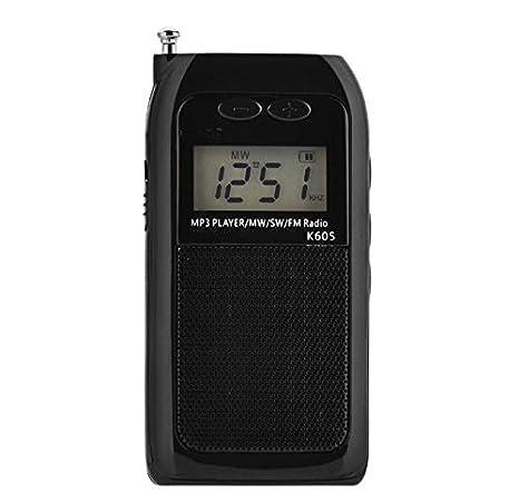 Mini Reproductor De Mp3 con Tarjeta De Radio Walkman con ...