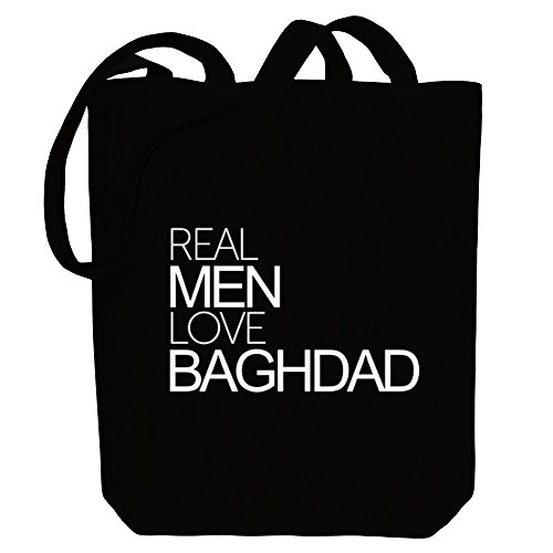 Capitals Idakoos Baghdad Bag men Canvas Tote love Idakoos Real Real qYrBOq