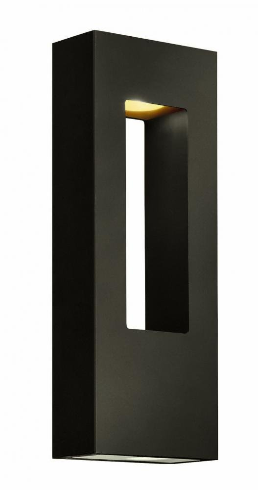 Hinkley 1648BZ Contemporary Modern Two Light Wall Mount from Atlantis collection in Bronze/Darkfinish,