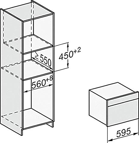 Miele H7440 BM OBSW - Horno multifunción combinado para microondas ...