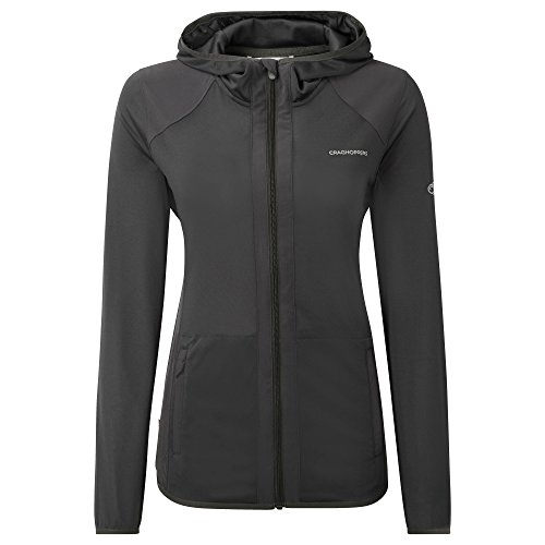 Craghoppers Women's Pro Lite Hooded Soft Shell Jacket Charcoal