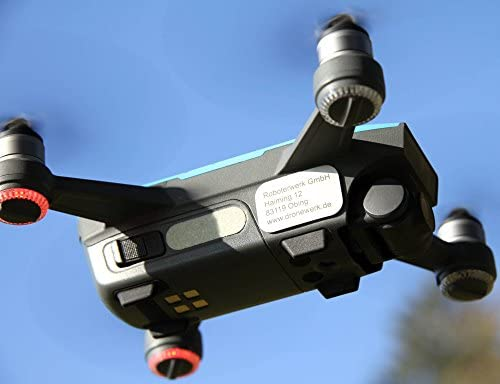 Robot de drohnen placa de matrícula de aluminio natural, dron ...