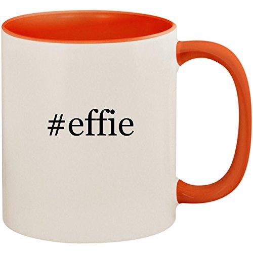 #effie - 11oz Ceramic Colored Inside and Handle Coffee Mug Cup, -