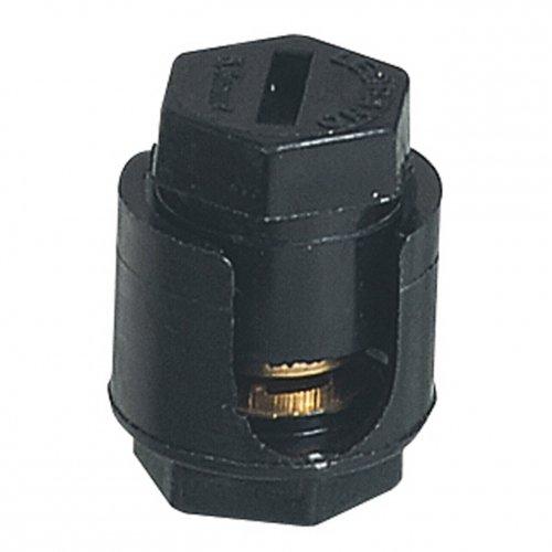 Legrand LEG34032 Borne anti-cisaillant é crou 6 pans sans pattes 2 x 18 mm Protection coffret tableau electrique bornes embout porte Accessoire barrette bornier peigne