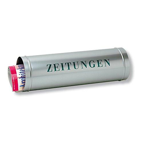 BURG-WÄCHTER, Zeitungsrolle mit Kunststoffabdeckung, Edelstahl, 800 Si, Silber