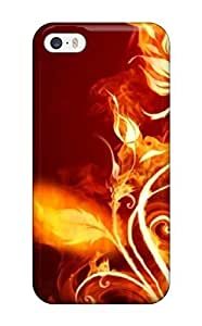 Cute High Quality Iphone 5/5s 503170 Fire Everywhere Animated Case