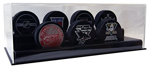 ACRYLIC SEVEN HOCKEY PUCK DISPLAY CASE (Acrylic Nhl Hockey Puck)