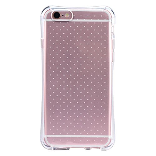 iPhone 6s Case,iPhone 6s Plus Case,LANDFOX Clear Silicone TPU Protective Case Cover For iPhone 6 6S Plus 5.5/iPhone 6/6s (iPhone6/6s)