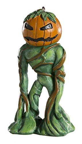 Pumpkin Man Horror Ornament - Scary Prop and Decoration for Halloween, Christmas, Parties and Events - By -