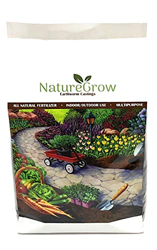NatureGrow Earthworm Castings -15LB