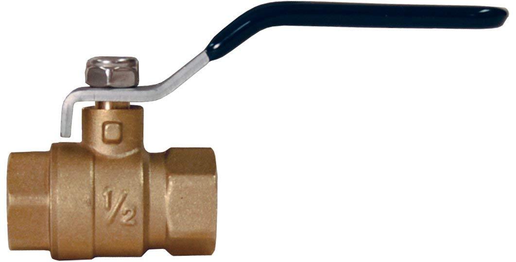 """1/4"""" Female NPT Brass Ball Lever Shut Off Valve Water/Air/Pneumatic/Fluid 600WOG Water Oil Gas"""