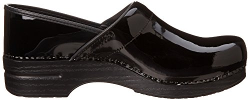 Clog Womens Leather Black Dansko Wide Professional Dansko Womens Patent q7w1xZaHZ