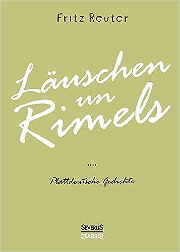 Plattdeutsche gedichte von fritz reuter