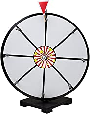 Midway Monsters GPRZ-106 Dry Erase Prize Wheel with Stand (White, 16-Inch)