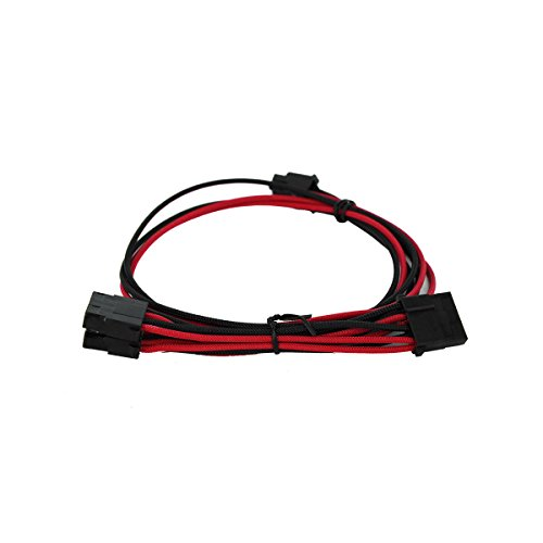 EVGA Black & Red 1600 G2/P2/T2 Power Supply Cable Set, Individually Sleeved (100-G2-16KR-B9) by EVGA (Image #5)