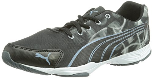 Puma Flx Graphic WnS, Chaussures de fitness femme Noir (Black-White-Turbulence 02)