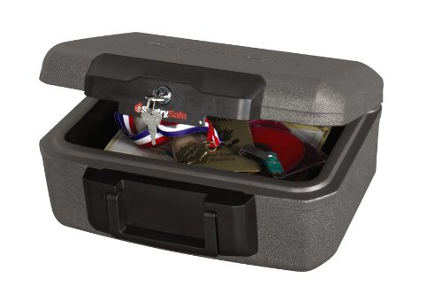 SentrySafe Fire Safe, Fire Resistant Chest, 0.18 Cubic Feet, Extra Small, 1210 by SentrySafe (Image #3)