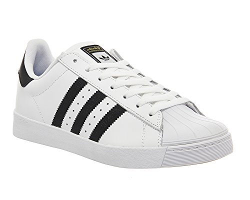 outlet official site buy cheap low shipping fee Adidas Superstar Vulc Adv White Black discount authentic online view sale online buy cheap price X7xai
