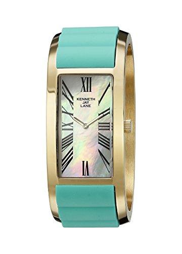 (Kenneth Jay Lane Women's KJLANE-5403 Breakers Japanese Quartz Two-Tone Watch )