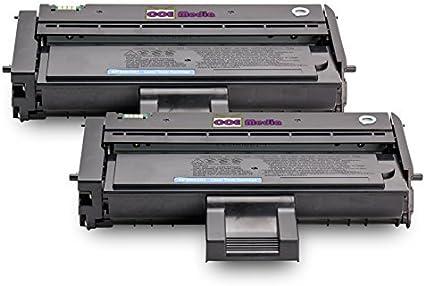 TwinPack de 2 Compatibles Cartuchos de Tóner Láser para RICOH ...