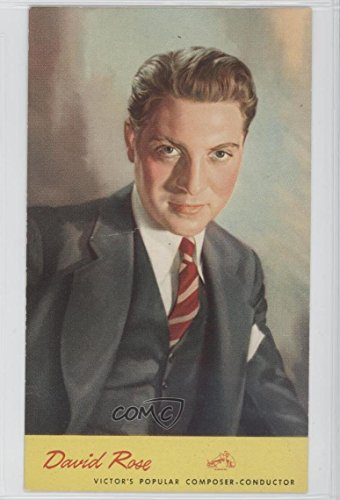 - David Rose COMC REVIEWED Good to VG-EX (Trading Card) 1944 RCA Victor Bandleaders and Recording Stars Advertising Postcards - [Base] #DARO