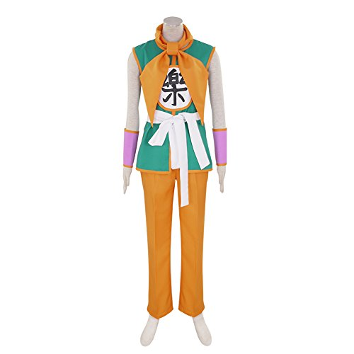 Saiyaman Costume (CG Costume Men's Dragon Ball Yamcha Cosplay Costume XXLarge)