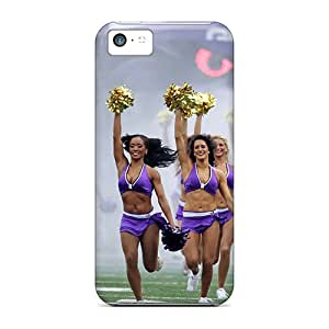 High Quality HHaroldshon Baltimore Ravens Cheerleadersuper Bowl Nfl Skin Case Cover Specially Designed For Iphone - 5c