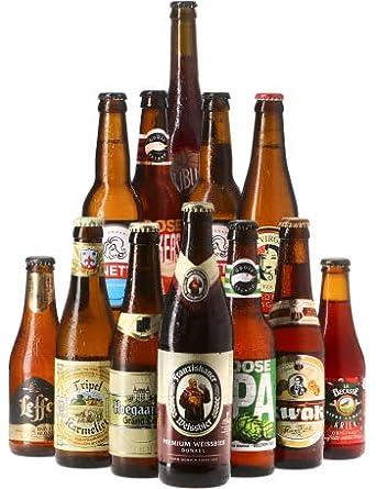 fd2590a076a Saveur Bière - Assortiment TOP 12 - Pack de 12 bières (25 à 50 cl) - Idée  cadeau  Amazon.fr  Epicerie